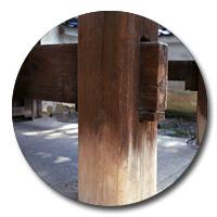 古木の袈裟・水引・戸帳・打敷・お守り・織物